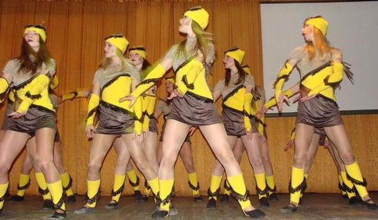 Танцавальны конкурс «У віхуры танца»