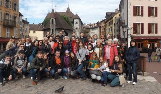 Творчае турнэ бабруйскіх талентаў у Францыі